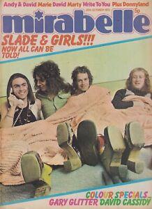 MIRABELLE (20 Oct 1973) Slade Gary Glitter David Cassidy Donny Osmond