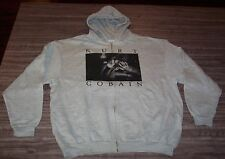 KURT COBAIN Nirvana ZIPPERDOWN HOODIE HOODED Sweatshirt 2XL XXL NEW