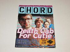Chord Magazine Death Cab For Cutie Aug 2005 Rare Out-Of-Print Back Issue