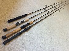 Lot 4 Nice Spin Rods Fenwick,Penn,Abu,Ugly Stik Trout/Small Mouth 6' to 5' NR!