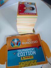 PANINI EURO 2020 - TOURNAMENT EDITION (ORANGE FIRST PAGE) - 497 STICKERS