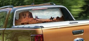 Knight Rear window perforated Car Decals graphics stained glass window hangings