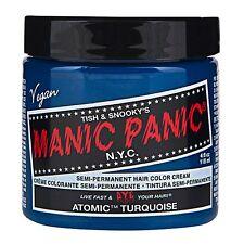 MANIC PANIC Classic Cream  Atomic™ Turquoise Semi-Permanent 4 oz Vegan Hair Dye.