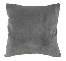 Fh206a Plain Grey Soft Faux Mink Fur Cushion Cover/Pillow Case*Custom Size