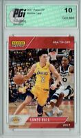 Lonzo Ball 2017 Panini NBA Tip-Off Only 895 Made Rookie Card PGI 10