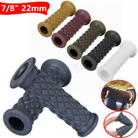 7/8'' 22MM UNIVERSALE MANOPOLE GOMMA MANUBRIO GRIP BAR END PER DIRT MOTO