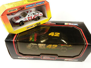 TWO Bobby Hillin 1991 RC Blackbox #42 Mello Yello 1:24 AND #77 Matchbox 1:43