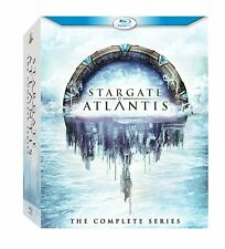 Stargate Atlantis: The Complete Series (Blu-ray, 20-Disc Set, 2011) NEW Sealed
