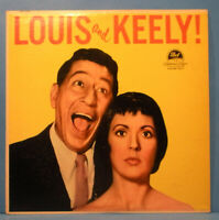 LOUIS PRIMA KEELY SMITH LOUIS & KEELY! LP 1959 ORIGINAL NICE CONDITION! VG/VG+!!