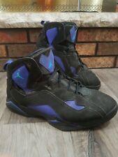 Nike Air Jordan True Flight 342964 040 Black Concord Purple Retro Mens Size 11
