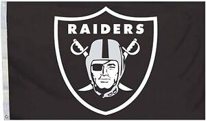 Las Vegas Raiders 3x5 Foot Flag Banner New Oakland