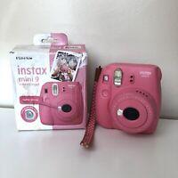 Fujifilm instax Mini 9 Instant Polaroid Camera  - Pink