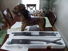 THOMAS PACCONI 1900-2000 CLASSICS COLLECTIBLE ROCKING HORSE FROM QVC WITH COA