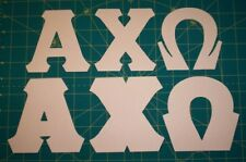 Greek Letter STENCILS Do-It-Yourself alpha chi omega phi kappa delta zeta mu