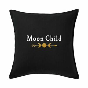 Moon Child Cushion Cover, Gothic Cushion Covers, Gothic home accessories
