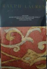 New Ralph Lauren Isla Menorca Scroll King Pillow Sham