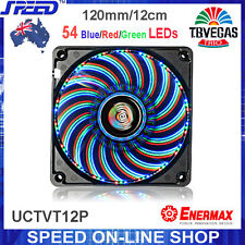 ENERMAX UCTVT12P T.B VEGAS TRIO Blue/Red/Green LEDs 12cm PC Case Cooling Fan