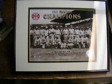Boston Red Sox 1918 World Series Champions Framed and Matted Photo