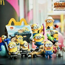 2017 McDonald's Minion Despicable Me 3  Happy Meal Toys Moive Theater MINT