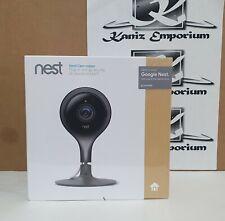 Google Nest Cam Indoor Smart Security Camera NC1102GB Full HD 1080p - Black X1