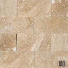 Msi Natural Stone 8Pc Lot Subway Mosaic Ivory Travertine 3x6 Honed Beveled Tile