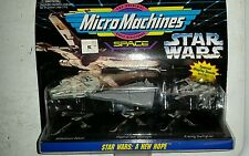 1994 Micro Machines Star Wars A New Hope Collection #1 Millennium Falcon Bnip