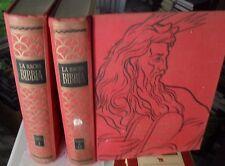 LA SACRA BIBBIA illustrata da quadri di Galizzi 2 vol. antico testamento 1954