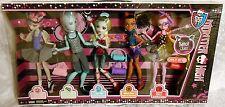 Monster High Dance Class 5-PACK Gil Webber Rochelle Robecca Lagoona & Operetta