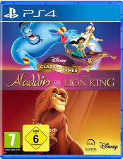Ps4 Disney Classic Games Aladdin and the Lion King neu&ovp PlayStation 4