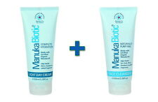 New Manuka Biotic Complete Hydration Natural Face Cream + Face Cleanser Bundle