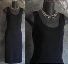 BEAUTIFUL St John collection knit black dress sz 4