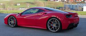 Novitec Matte Anthracite NF4 Forged Wheels - Ferrari 488 GTB Spider
