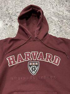 Champion Harvard University Sweatshirt Hoodie Size L Business School