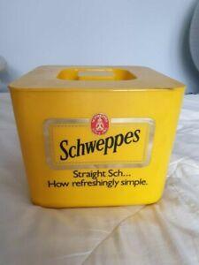 Vintage Retro 1980s Ice Bucket - Schweppes
