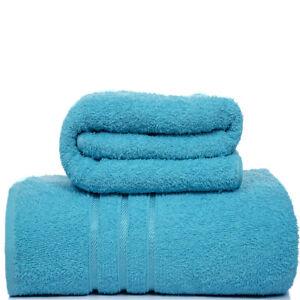4x Bath Sheets 100% Pure Combed Cotton Big Towels Soft Luxury Bathroom Towels UK