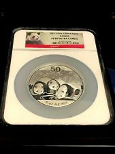 New Listing2013 China 5 Oz S50Y Panda Ngc Pf 69 Ultra Cameo Silvert Medallion