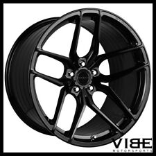 "22"" STANCE SF03 GLOSS BLACK CONCAVE WHEELS RIMS FITS CHEVROLET CAMARO LS LT SS"