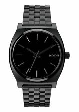 New Nixon Time Teller Watch All Black