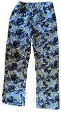 Football Pajama Bottoms Boys Size Xl 18 Grey Jellyfish Kids Euc