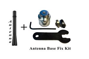 "4"" ANTENNA MAST + Radio Antenna Base Repair Kit for GMC Chevy and Buick Cadillac"