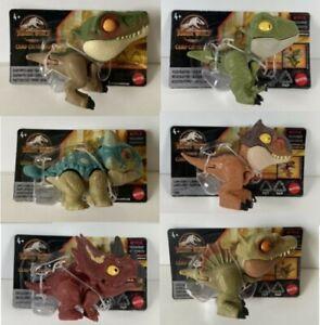 Jurassic World Camp Cretaceous Snap Squad Mini Dinosaurs *Choose*