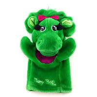 Baby Bop Plush Hand Puppet Stuffed Animal Doll Vintage 90s Barney Dinosaur