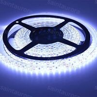Super White Waterproof 5M 3528 Led SMD 600 Lights Flexible Strip Light DC 12V