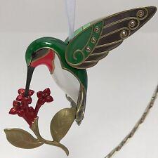 Hallmark 2016 Dazzling Hummingbird Beauty of Birds Keepsake Premium Ornament