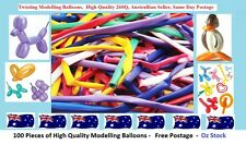 100 Pieces High Quality LATEX 260Q MODELLING TWISTING BALLOONS MAKING ANIMAL