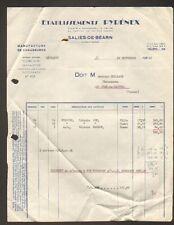 "SALIES-de-BEARN (64) USINE de CHAUSSURES ""Ets. PYRENEX"" en 1960"