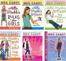 1-6 volumes of Meg Cabot's Allie Finkle's Rules for Girls.  NEW and MINT!