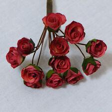 Confezione da 10 OPEN Borgogna Rose per le schede e artigianato
