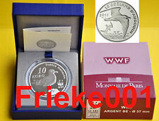 Frankrijk - France - 10 euro 2011 Proof.(WWF)