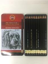 Koh-I-Noor Professional Graphite Pencils Set Of 12. 8B- 2H